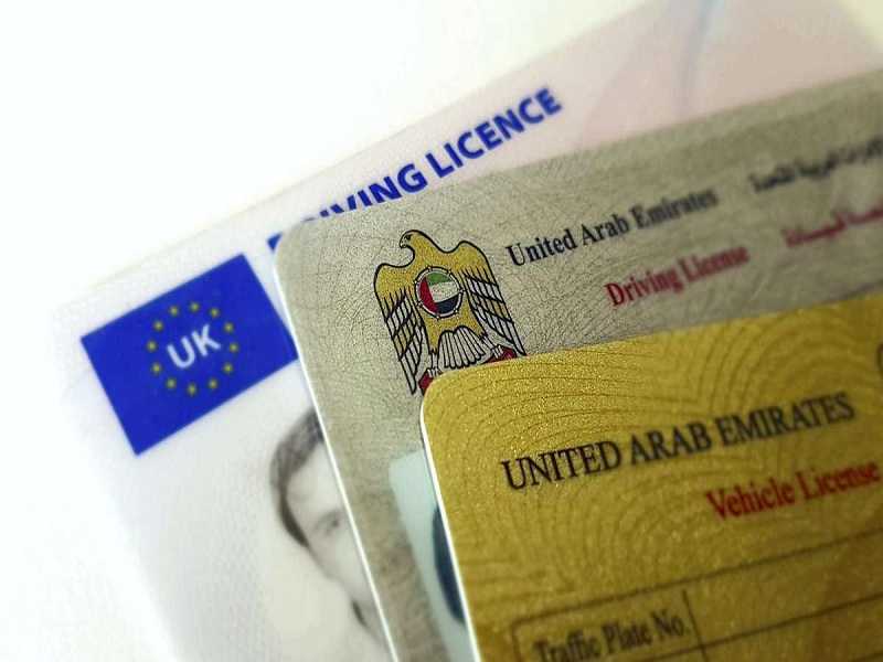 Where Can I Exchange My Driving License In Dubai?